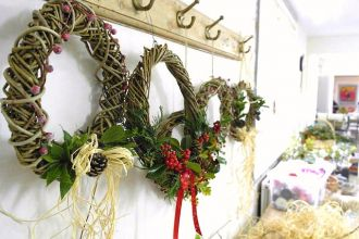 Willow Wreath and Christmas Decoration Workshop
