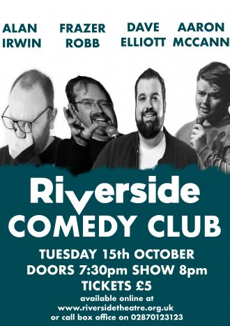 Riverside Comedy Club October