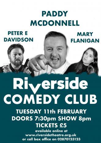 Riverside Comedy Club February