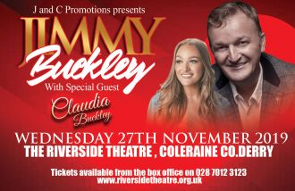 Jimmy Buckley with special guest Claudia